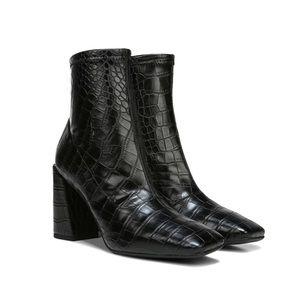 Franco Sarto Harmond Square Toe Croc Boots